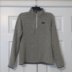Patagonia Better Sweater Quarter Zip Jacket✨